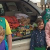 Melonvine Girl Scouts Hold Food & Blanket Drive