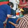 Health fair well attended