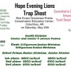 Evening Lions set trap shoot