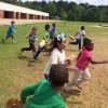 Clinton Primary Kindergarten Students Hold Easter Egg Hunt