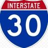 Eastbound I-30 Closed Due To Head-On Crash