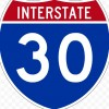 Interstate 30 Westbound Blocked By Truck Accident