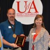 Wilcox outstanding UAHT faculty member