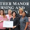 Heather Manor donates to RoC-Fest