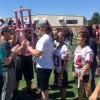HHS Junior Class Girls Win Powderpuff Football Victory