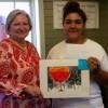 Garcia Wins SWAAC Train Day Art Show
