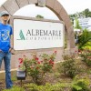 SAU's Cooper interning at Albermarle