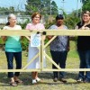 Rotary donates fence to museum
