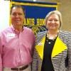 Hope Kiwanis Club Hears John & Kim Hollis On Southwest Arkansas Arts Council