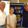Hope Rotary Hears Hope Parks & Recreation Program