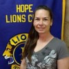 Hope Lions Club Hears About National Night Out