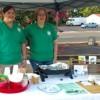 Hope Farmers Market Serves Roasted Okra