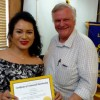 Hope Lions Club Inducts New Member