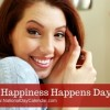 Today is happiness happens day