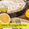 It's National Lemon Meringue Pie Day
