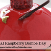 National raspberry bombe day