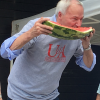 Watermelon Eating Contest with Special Guest