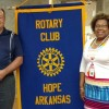 Hope Rotary Club hears from Hope Water and Light