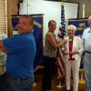 Three inducted into the Hopes Lion Club