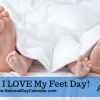 "National ""I Love my Feet Day"""