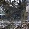 PFD burns house