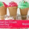 Ice Cream Cone Day