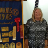 Kiwanis Club hears from Becky Featherston