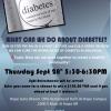 Diabetes Talk to be held at UA-Hope Hempstead Hall on Sept. 28th