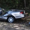 One injured in wreck