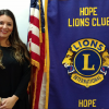 Hope Lions Club hears from Anna Powell Director of Industry Outreach and Community Education