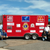 Hope Lions Unveil New Chuck Wagon
