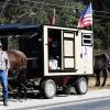 Wagon tours at Grandview Prairie