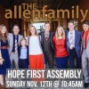 The Allen Family to visit Local Church