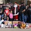 Bike clubs help Santa