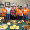 AT&T Pioneers Host Community Coffee