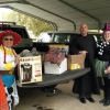 County Officials Hold Halloween Food Drive And Donate To Hope In Action