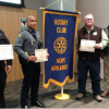 Hope Rotary Honors Local Officers