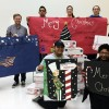 UAHT Fine Arts Club donates to soldiers