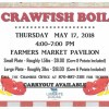 Crawfish boil May 17