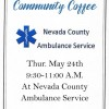 NCAS coffee Thursday