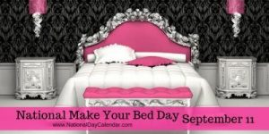 National-Make-Your-Bed-Day-September-11